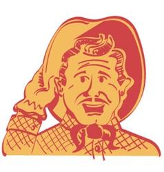 Howdy partner vector image