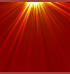 light rays background vector image vector image