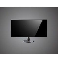TV Screen hd- Isolated On grey Background vector image