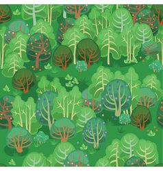 Forest in summer with berries vector image