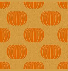 peeled orange tangerines seamless pattern vector image
