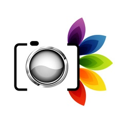 Photography logo vector image