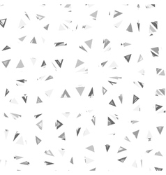 Triangles Glitch Background vector image