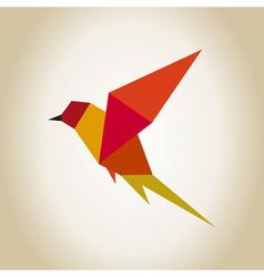 Bird abstraction vector image vector image