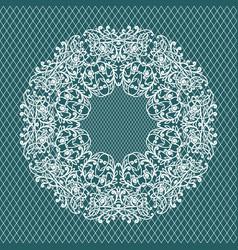 weddind ornament pattern vector image vector image