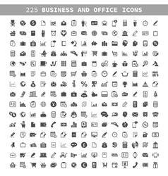 Business an icon vector image vector image