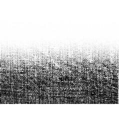 Grunge rough halftone texture crumpled burlap vector