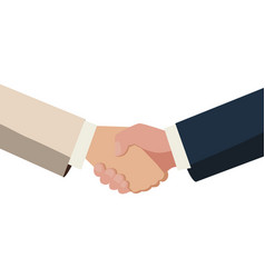 Handshake done deal icon vector