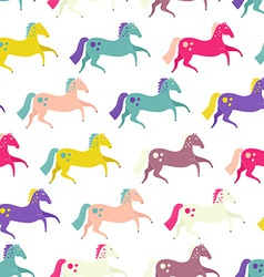 Horses Seamless vector image