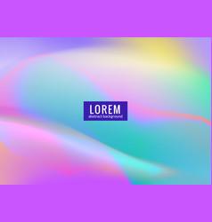 Northern polar light gradient background design vector