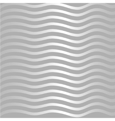 Silver wave pattern vector