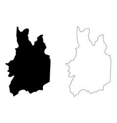 Uva province sri lanka map vector