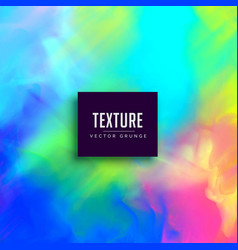 Vibrant watercolor colorful texture background vector