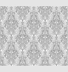 Vintage art nouveau pattern vector
