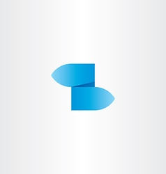 z letter blue gradient logo icon vector image
