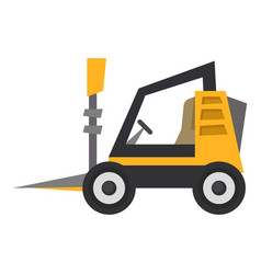 mini loader icon flat style vector image vector image