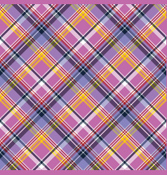 pink purple plaid pixel texture fabric seamless vector image