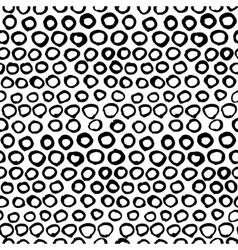 seamless black and white graphic hand drawn vector image vector image