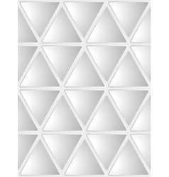 Seamless White Geometrical Background vector image