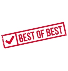 Best Of rubber stamp vector image