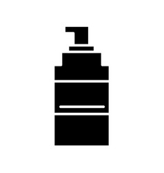 spray icon black sign on vector image