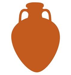 Amphora vector image