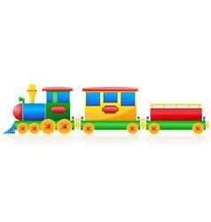children train vector image