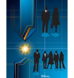 futuristic business background vector image vector image