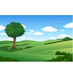 nature landscape vector image
