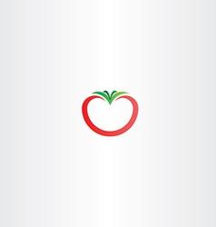 tomato icon logo sign vector image