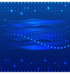 Abstract background in blue vector image