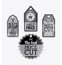 Big sale label design vector image