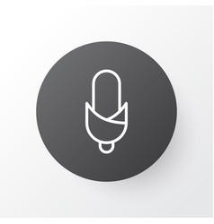 Corn icon symbol premium quality isolated maize vector