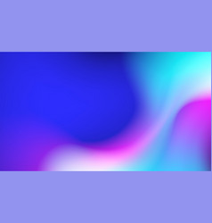 Fluid colorful background vector