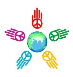Global peace vector