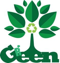green2 vector image