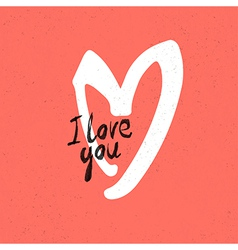love card red vector image
