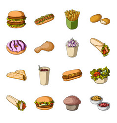 mealcelebration cafe and other web icon in vector image