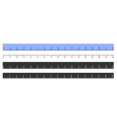 Meter ruler vector