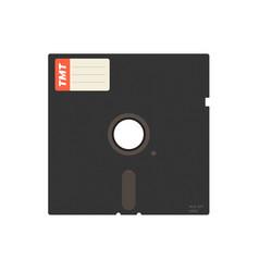 Old 525 floppy disc vector