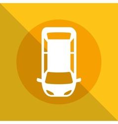 parking zone vector image