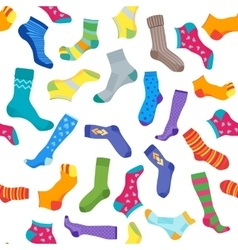 Socks Background Pattern vector image