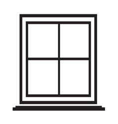 window icon symbol design vector image
