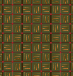 Pattern color cell vector image