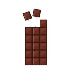 Candy chocolate bar icon vector