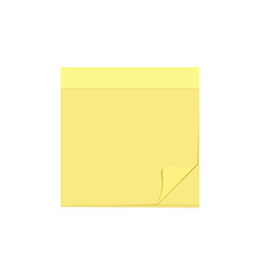 blank comment message note paper sheet task icon vector image