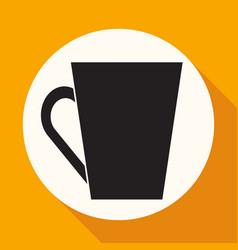 Cup icon vector