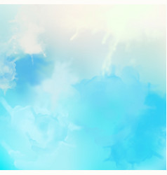 decorative watercolor background vector image