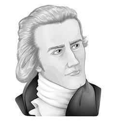 Sir William Hershel vector image