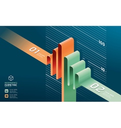 infographic diagram chart vector image vector image